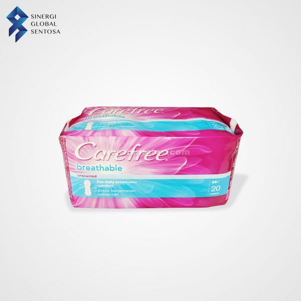 Carefree breathable 20 Sheets