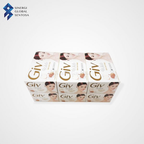 GIV White Soap with Bengkoang + Vit B, C, E