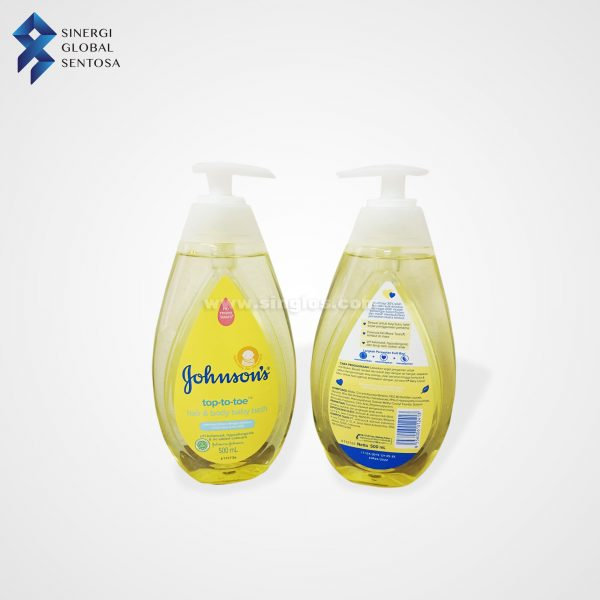 Johnson's Top-To-Toe hair & body baby bath