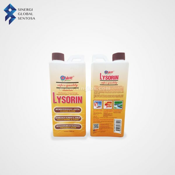 Yuri Lysorin Floor Cleaner and Disinfectant