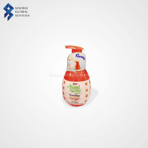 Yuri Hand Soap Foaming Premium Rose 410 ml