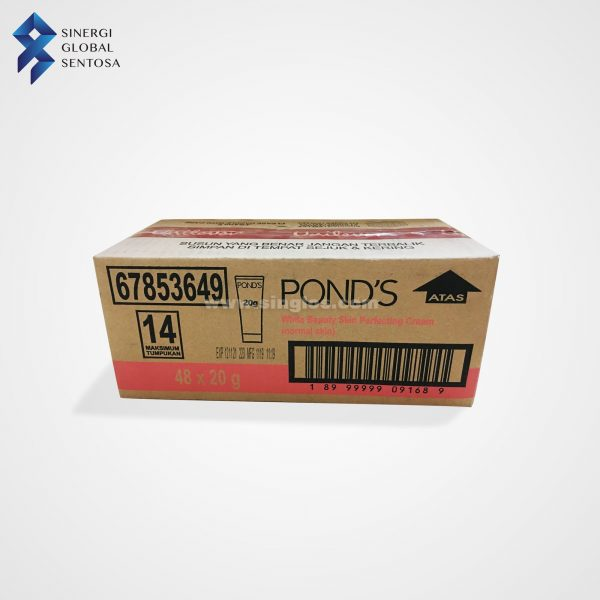 Ponds White Beauty Cream Carton