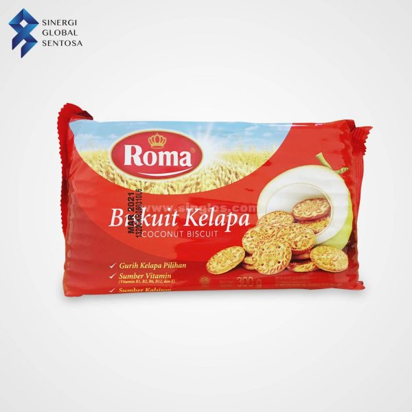 BISKUIT_ROMA BISCUIT KELAPA 300G x 28