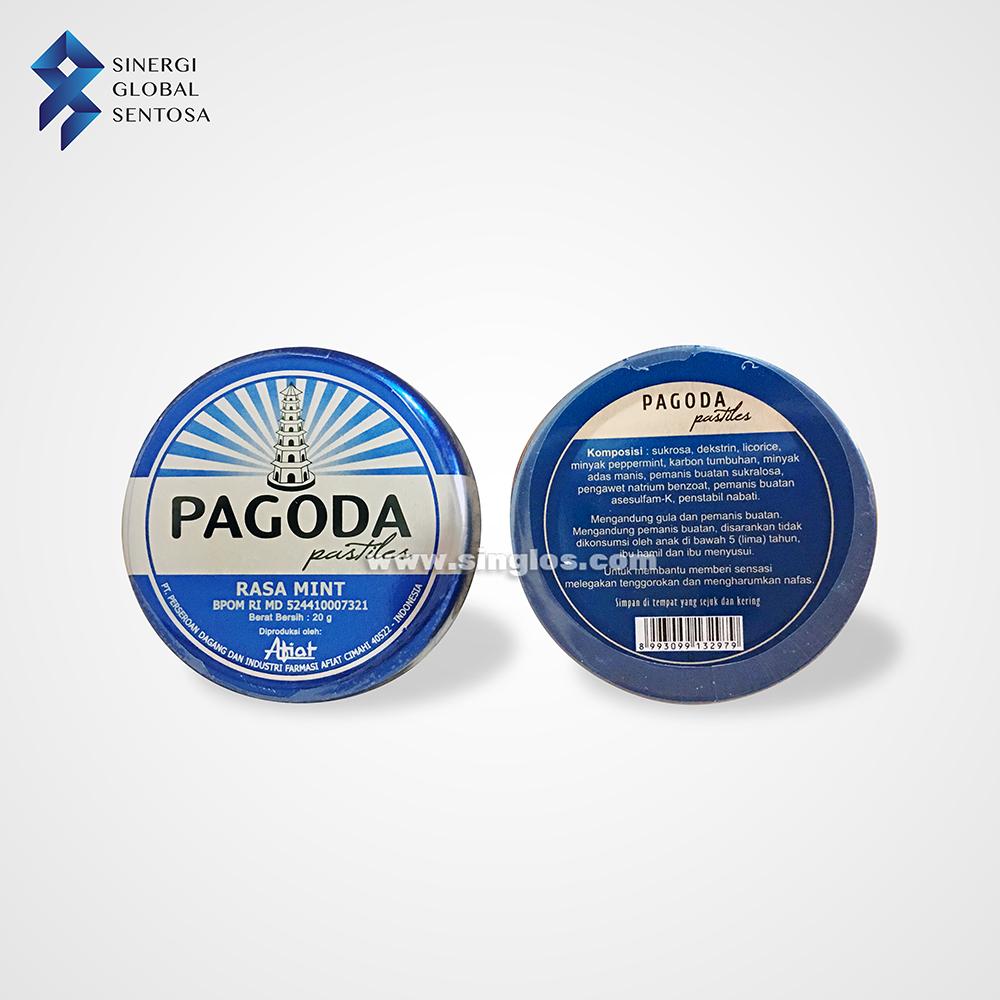 Pagoda Pastilles Mint